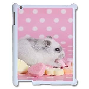 XDCC Brand New IPad 2,3,4 Cover Custom Case Hamster,customized case GM910541