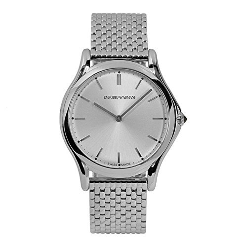 Emporio-Armani-Swiss-Made-Mens-Quartz-Stainless-Steel-Dress-Watch-ColorSilver-Toned-Model-ARS2006