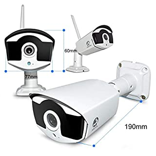 JOOAN 3MP Security Camera System Wireless,8-Channel NVR&4Pcs FHD (Clearer Than 1080P) Audio Record CCTV Cameras,Waterproof&Good Night Vision,Motion Alert(with 1TB Hard Drive)