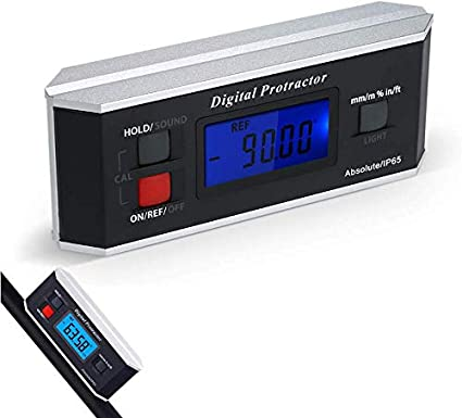 con schermo LCD Magnetico e Digitale Impermeabile Goniometro Inclinometro