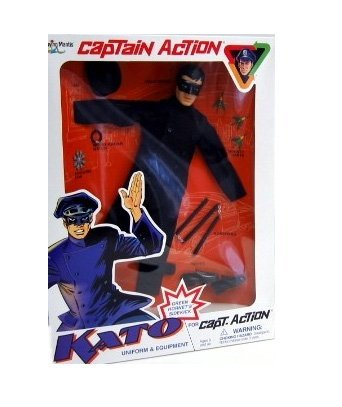 Kato Uniform and Equipment for Captain Action