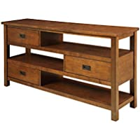 ACME Fisher Walnut Console Table