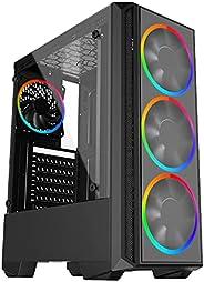 Computador Gamer Skill Gaming AMD Ryzen 5 3400G 4.2Ghz, Radeon RX VEGA 11, 8GB DDR4, SSD 120GB, 42325, Preto,
