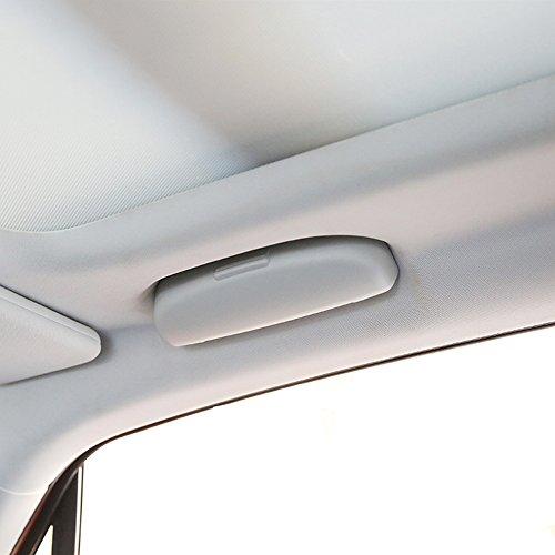 Thie2e Car Sun Visor Glasses Sunglasses Storage Box Holder Case Fit Jeep Renegade 2015 2016 2017 2018 Interior Accessories