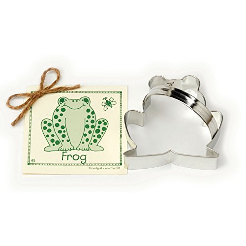 Ann Clark Cookie Cutters Frog Cookie Cutter, 3.8