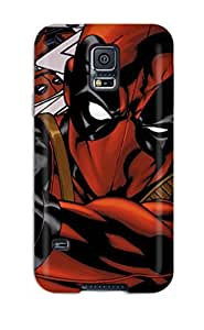Faddish Phone Deadpool Case For Galaxy S5 / Perfect Case Cover by icecream design