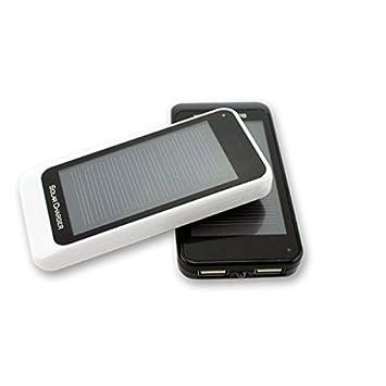 Batería externa para móviles 3000 mAh, con cargador solar ...