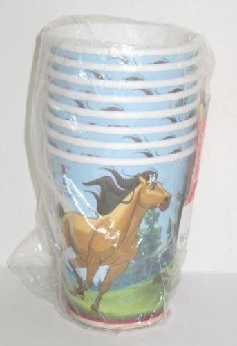 Hallmark The Spirit Stallion of the Cimarron Party Cups (The Real Spirit Stallion Of The Cimarron)