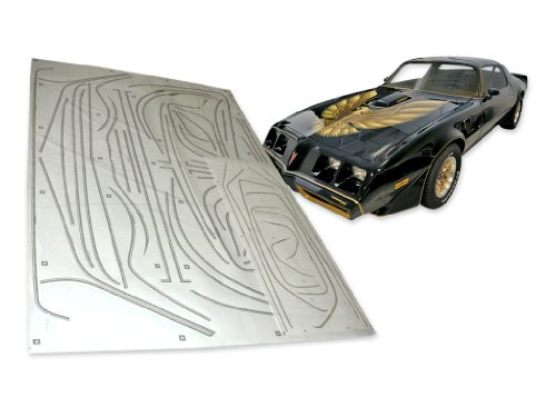 1976 1977 1978 Firebird Trans Am Special Edition Bandit formed Stripes Only Kit