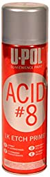U-Pol Products 0837 Black ACID#8 Etch Primer - 450ml