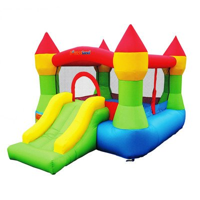Bounceland Castle W/Hoop Inflatable Bounce House Bouncer (Bouncy Castles Commercial compare prices)