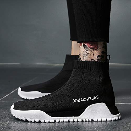 Sport Run Weaving Flying Nanxieho Homme Chaussures Lazy Net Chaussettes Loisir Chaussure HxATxn