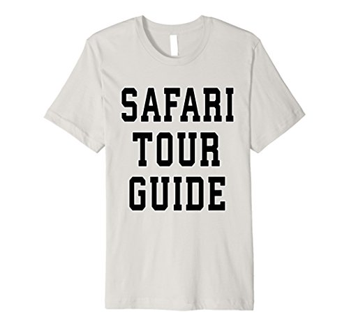 Safari Tour Guide Novelty Shirt Costume Halloween Adults]()
