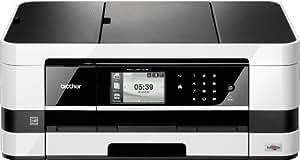 Brother MFCJ-4510DW All-in-One - Aparato multifunción (copiadora, escáner, impresora, fax, WLAN, USB 2.0), color negro y gris (importado)