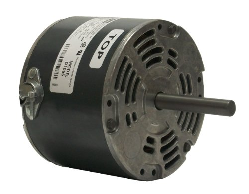 Fasco D1066 5.0-Inch Diameter Shaded Pole Motor, 1/10 HP, 115 Volts, 1050 RPM, 1 Speed, 3.6 Amps, CW Rotation, Sleeve Bearing