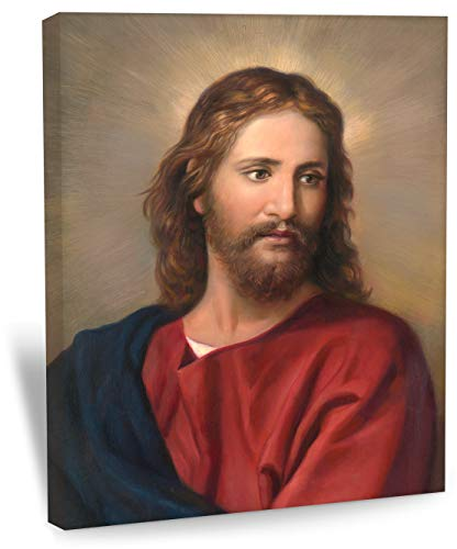 Big A Solutions Jesus Wall Decor, Replica of Oil Painting by Heinrich Hoffman. Jesus Wall Art in Different Sizes, Jesus Canvas, Jesus Posters. 16X20