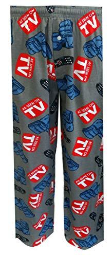 (Fun Boxers Mens Manly Stuff Fun Prints Pajama & Lounge Pants, Recliners N Remotes, Medium)