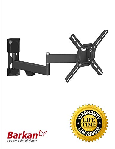 Flat/Curved Screen TV Wall Mount Articulating Motion 13