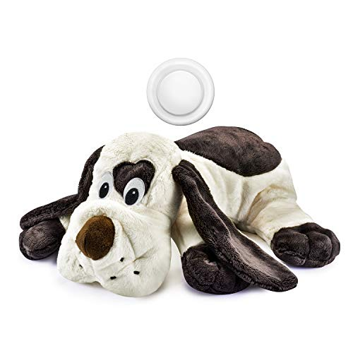 Moropaky Puppy Toy with Heartbeat Dog Training Toy for Separation Anxiety Claming Behavioral Aid, Heartbeat Toy Plush Toys for Dogs Cats Pets Puppy Starter Kit (Dog Toys That Help With Separation Anxiety)