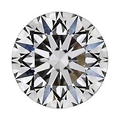 CERTIFIED 1.9 MM / 0.03 Cts. Natural Loose Diamonds, Fancy White-F/G Color Round Brilliant Cut VVS1-VVS2 Clarity 100% Real Diamonds by IndiGems ()