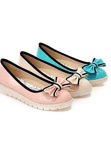zapatos uk3 pink vestido libre de eu35 rosa pisos punta cn34 de mujer talón casual plano us5 carrera oficina al PDX aire comodidad Beige redonda y verde S175xaq7Ww