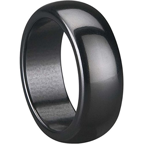 Jude Jewelers 8mm Black Ceramic Ring (9)