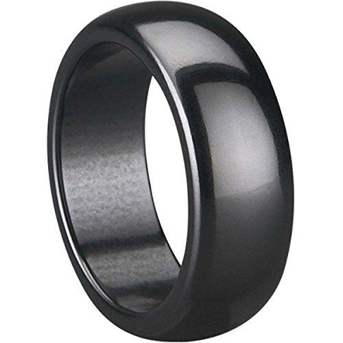 - Jude Jewelers 8mm Black Ceramic Ring (9)