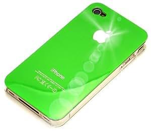 """""""Clásico"""" Verde Cubierta duro para iPhone 4. Estuche / Carcasa / Funda, Cubierta de plástico duro para iPhone 4."""