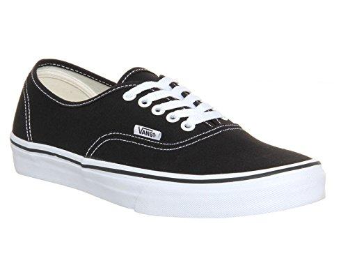 Vans Authentic Unisex Skate Trainers Shoes Black 7 B(M) US Women / 5.5 D(M) US Men (Vans Ladies Shoes)