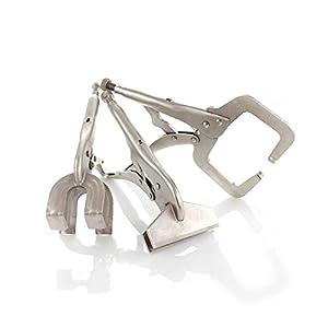 Capri Tools Locking Welding Clamp, 3 Pieces