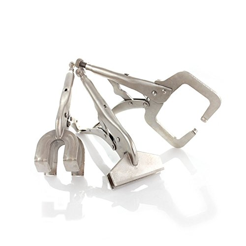 Picture of Capri Tools Locking Welding Clamp, 3 Pieces