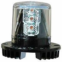 8 Watt Mini LED Strobe Light - Low Profile - 360° Visibility - Multiple Colors(-Blue)