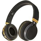 Sentry Industries BT300 - Auriculares estéreo Bluetooth con micrófono, Color Negro