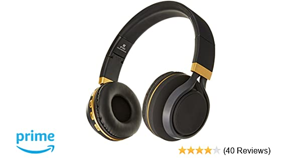 Amazon.com: Sentry Industries BT300 Bluetooth Stereo Headphones with Mic, Black: Home & Kitchen