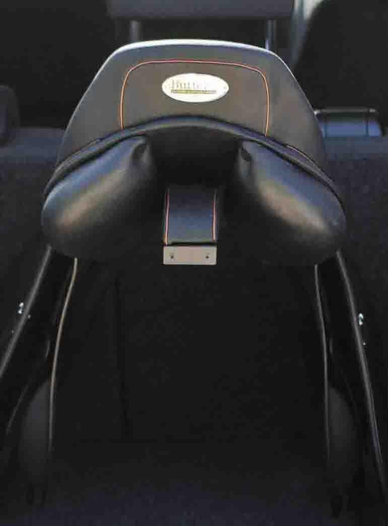 Amesbichler Butterfly car saddle, DT-Saddlery, flexible