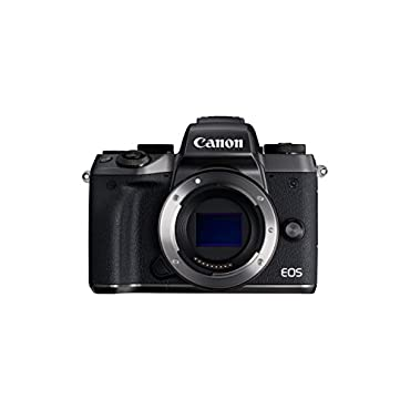 Canon EOS M5 Mirrorless Camera Body Wi-Fi Enabled & Bluetooth