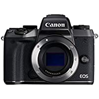 Canon EOS M5 24.2MP Mirrorless Digital Camera Body (Black)