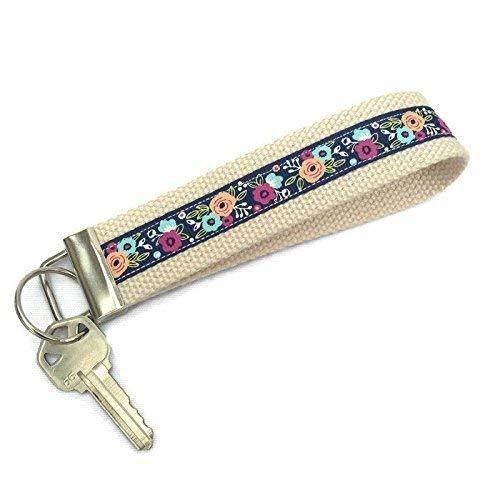Womens Keychain Boho Key fob wristlet