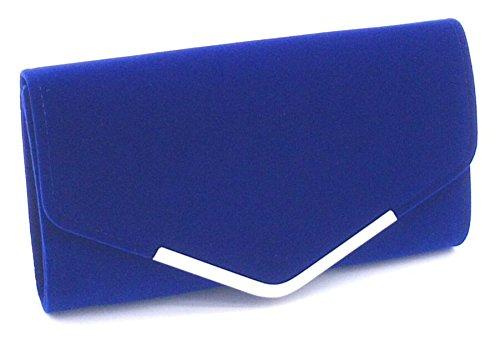 Qualite a Portefeuille Bleu en Ceremonies pour Main Pochette Sac Mariage party Finette Y Soiree Cloud Sac de Haute q8UF84E