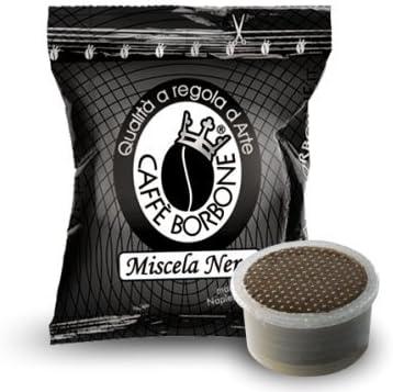 400 capsule Borbone miscela nera compatibili espresso point