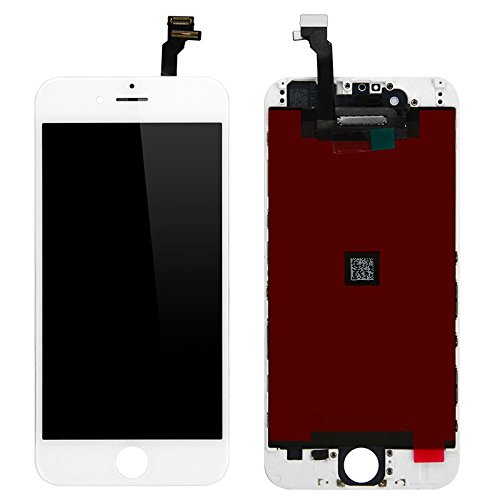 For Iphone 6 Plus Screen Replacement White-New OEM For Iphone 6 Plus 5.5 Inch LCD Touch Screen Digitizer Assembly Replacement Full Set Repair Tools Screen Protector