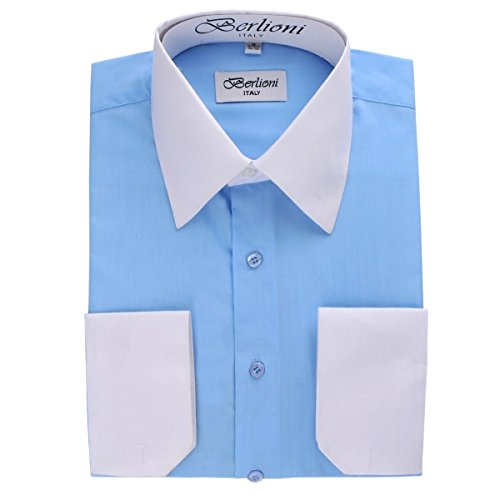 dress shirts two tone - 1