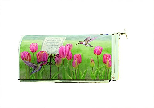 Lang - Magnetic, All-Weather, Standard-Size - Mailbox Cover - Garden Path, Exclusive Artwork by Jane Shasky