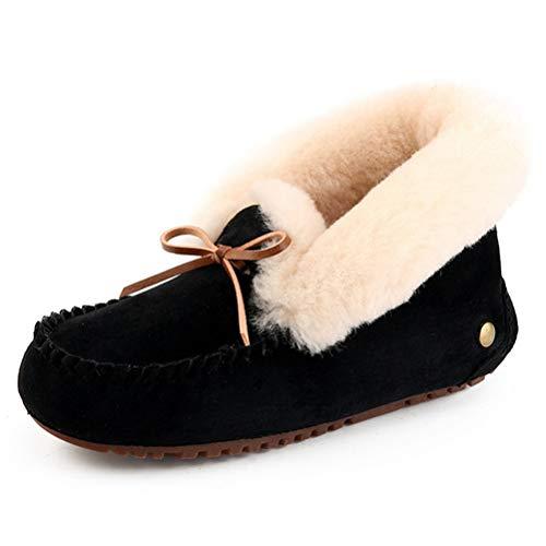 Guisantes Planos Corte Liuhoueotoño Invierno Y Mujer Zapatos Casuales Alta C De ggXTqH