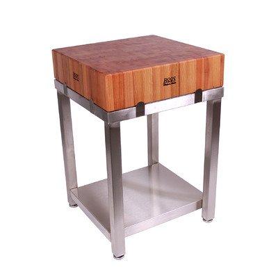 (John Boos Cucina Americana LaForza Kitchen Island Wood Top)