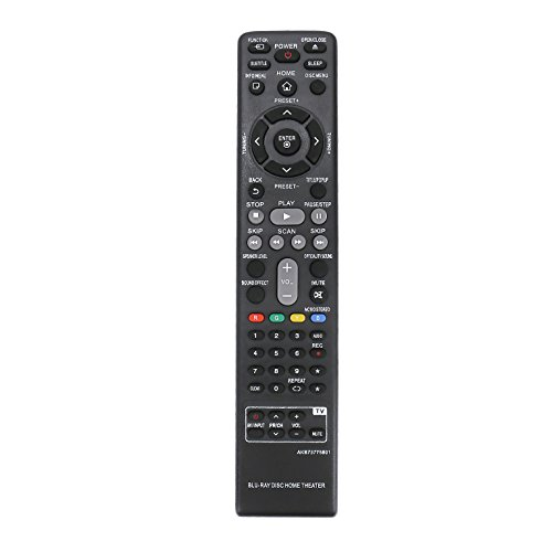 New AKB73775801 Replace Remote Control fit for LG Blu-Ray Home Theater System BH4030S BH4530T BH5540T BH6540T LHB655 S43S1-W S54T1-S S63T1-W S64H1-W. by AIDITIYMI