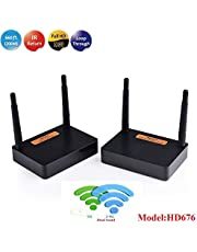 MEASY FHD676 Wireless Full HD kit (WiFi Transmitter and Receiver) Support 200m/600feet Transmission Distance HDMI1.4,HDCP1.4 with IR Control Function