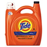 Tide 23068 He Laundry Detergent, Original Scent, 150 Oz Pump Bottle, 4/carton