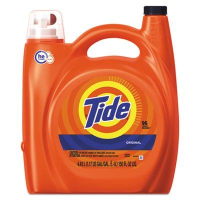 Tide 23068 He Laundry Detergent, Original Scent, 150 Oz Pump Bottle, 4/carton by Tide