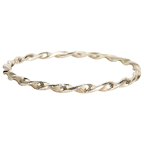 Gemma by WP Diamonds Gurhan 'Midnight' Bangle Bracelet in Sterling Silver MSRP 550
